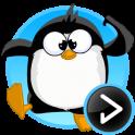 прыгающий пингвин