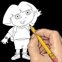 Как рисовать: мультперсонажей - icon