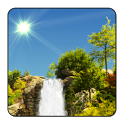 "True Weather Waterfalls – обои ""водопады"" - icon"
