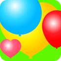 Colorful Balloons for kids - icon
