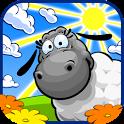 Овечки и облака - icon