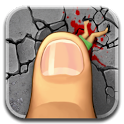 огромный палец android