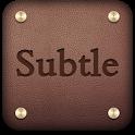 X-Subtle GO Launcher EX Theme - icon
