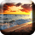 Морские Волны на Закате