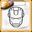 Как нарисовать героев android