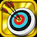 стрельба из лука - icon