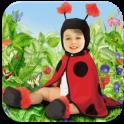 ребенок фотомонтаж - icon