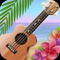 Реальная укулеле (гавайская гитара)