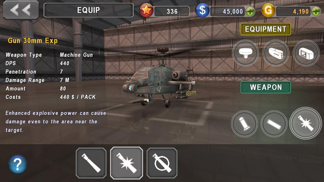 GUNSHIP BATTLE: Helicopter 3D download on Android free