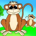 Веселые животные — развивающие игры для малышей