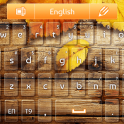 GO клавиатуры Оранжевый Осень android