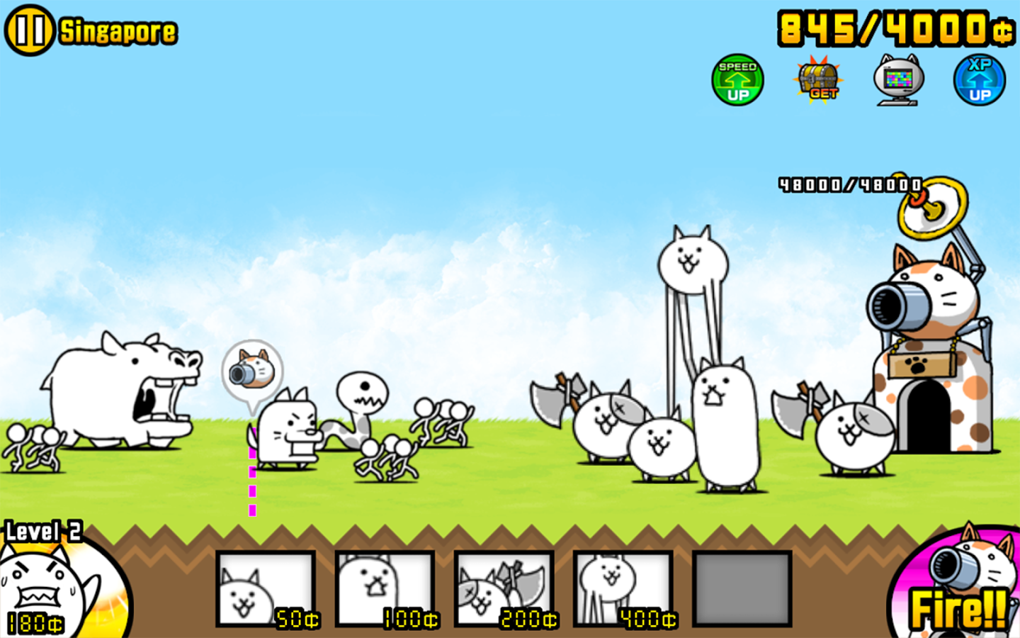 The Battle Cats Download On Android Free Captain Droid
