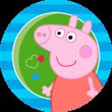 Свинка Пеппа детские пазлы