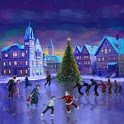 Christmas Rink Live Wallpaper – Рождественский каток android