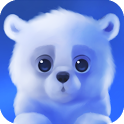 Polar Chub — белый медвежонок в вашем телефоне